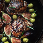 Chicken With Figs and Olives