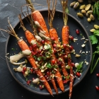 Sumac Roasted Carrots with Tahini Sauce