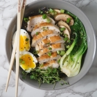 Asian Chicken Noodle Soup Bowl