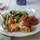 Butternut Squash Rice Stuffed Chicken Capons