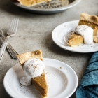 Classic Pumpkin Pie with Hawaij Coconut Cream
