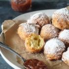 Fluffy Ricotta Donut Holes