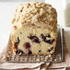 Blueberry Streusel Loaf Cake