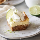 KFP Lime Cheesecake Squares