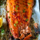 Honey & Harissa Side of Salmon